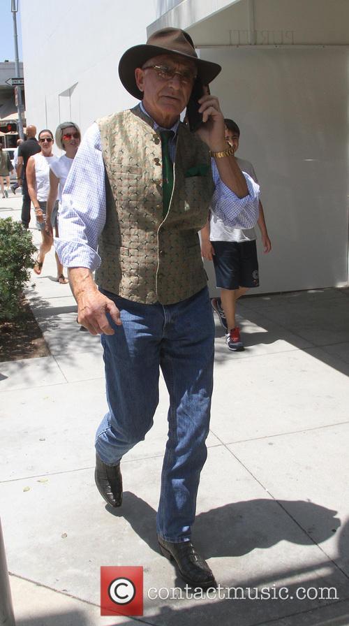 Frederic Prinz von Anhalt goes shopping in Beverly...