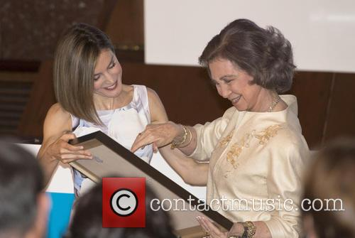 Queen Letizia Of Spain and Queen Sofia 11