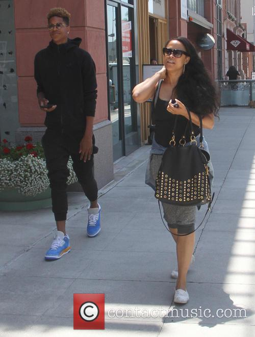 Shaunie O'Neal out and about in Beverly Hills