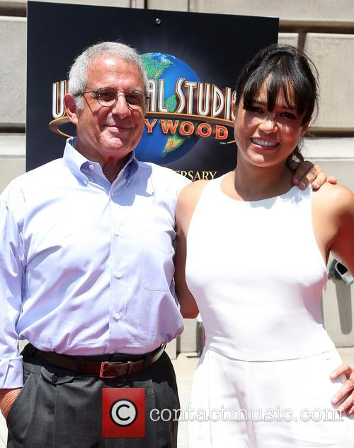 Ron Meyer and Michelle Rodriguez 6