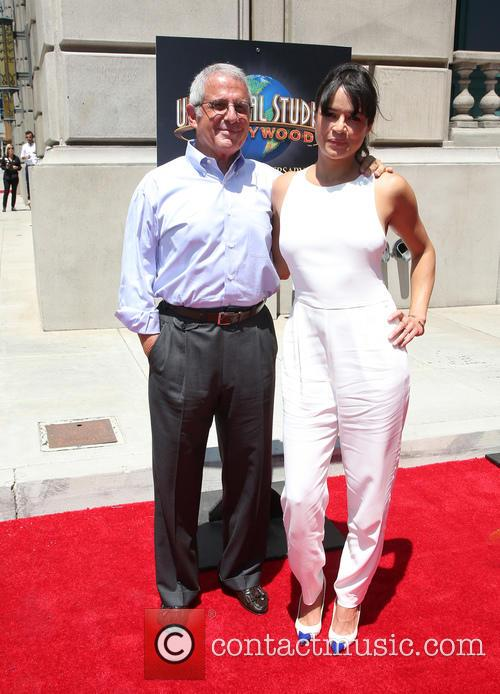 Ron Meyer and Michelle Rodriguez 1