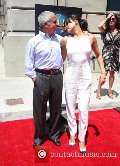 Ron Meyer and Michelle Rodriguez 8