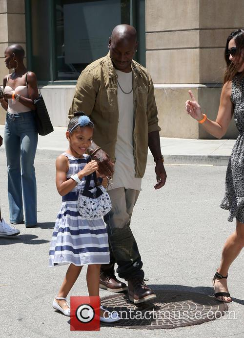 Tyrese Gibson and Shayla Somer Gibson 2