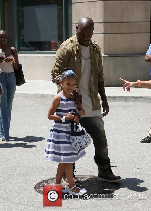 Tyrese Gibson and Shayla Somer Gibson 3