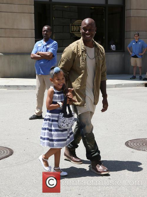 Tyrese Gibson and Shayla Somer Gibson 4