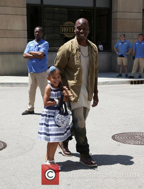 Tyrese Gibson and Shayla Somer Gibson 5