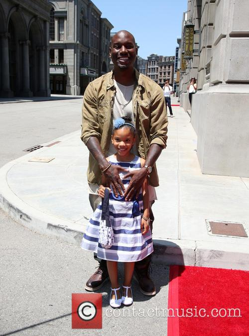 Tyrese Gibson and Shayla Somer Gibson 7