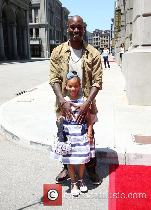 Tyrese Gibson and Shayla Somer Gibson 8