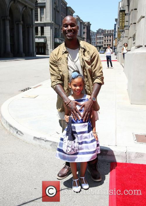 Tyrese Gibson and Shayla Somer Gibson 9