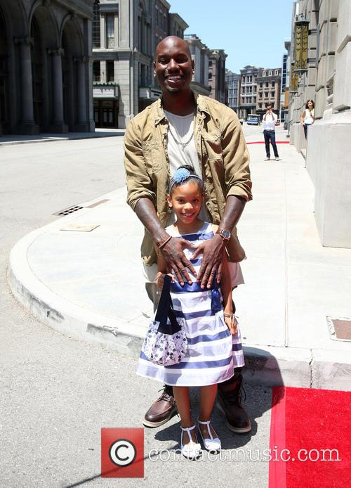 Tyrese Gibson and Shayla Somer Gibson 10