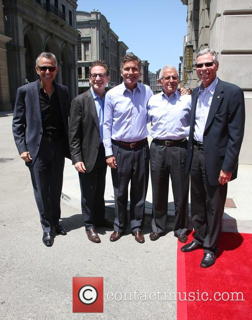 Steve Burke, Larry Kurzweil, Tom Williams, Ron Meyer and Mark Woodbury 2