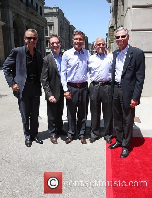 Steve Burke, Larry Kurzweil, Tom Williams, Ron Meyer and Mark Woodbury 3