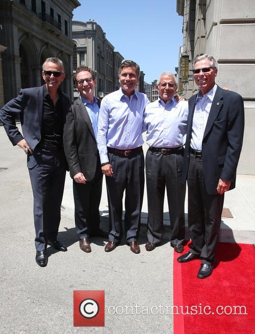 Steve Burke, Larry Kurzweil, Tom Williams, Ron Meyer and Mark Woodbury 4