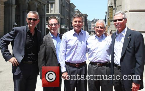 Steve Burke, Larry Kurzweil, Tom Williams, Ron Meyer and Mark Woodbury 7