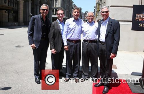 Steve Burke, Larry Kurzweil, Tom Williams, Ron Meyer and Mark Woodbury 8
