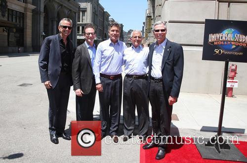 Steve Burke, Larry Kurzweil, Tom Williams, Ron Meyer and Mark Woodbury 9