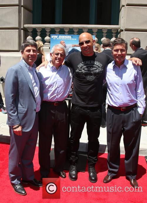 Ron Meyer, Vin Diesel and Guests 11