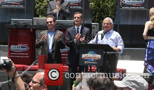 Furious, Larry Kurzweil, Eric Garcetti and Ron Meyer 4