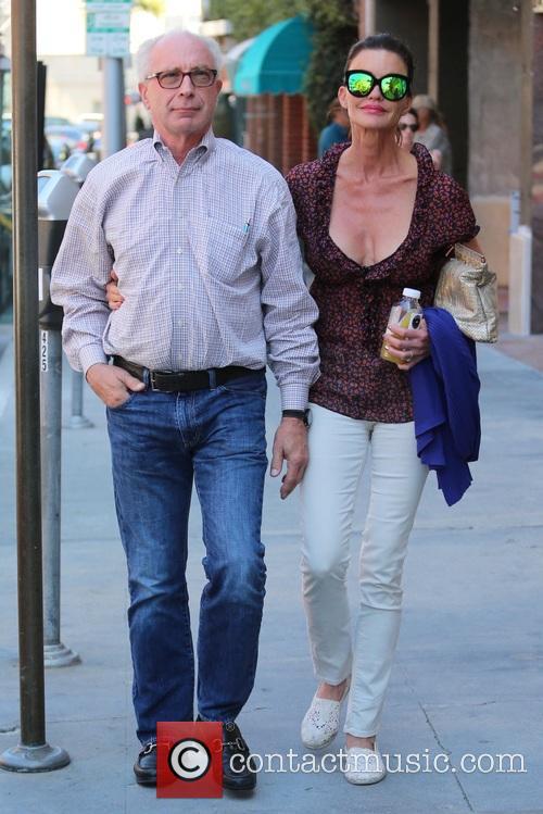 Janice Dickinson and fiancé Robert Gerner