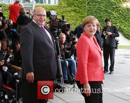 Peter Altmaier and Angela Merkel