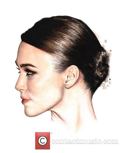 Hollywood Actresses Are Depicted in Breathtakingly Life-like Watercolor...