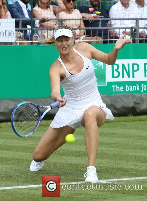 Maria Sharapova at Hurlingham