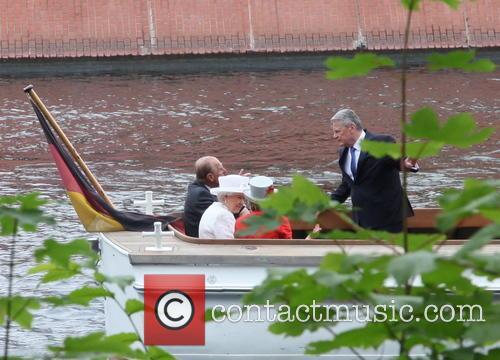 Prince Philip, Queen Elizabeth Ii, Daniela Schadt and Joachim Gauck 4
