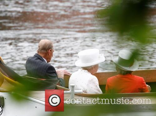 Prince Philip, Queen Elizabeth Ii and Daniela Schadt 5