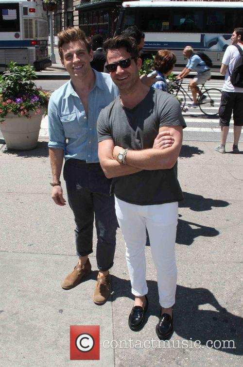 Jeremiah Brent and Nate Berkus