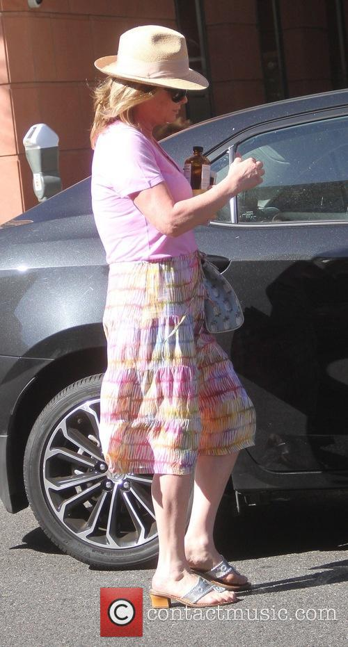 Kathy Hilton shopping in Beverly Hills