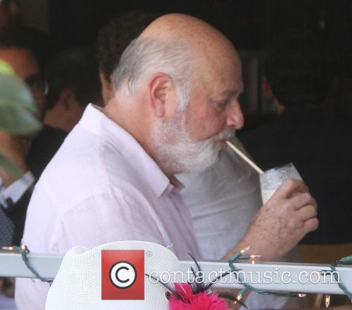 Rob Reiner having lunch with friends