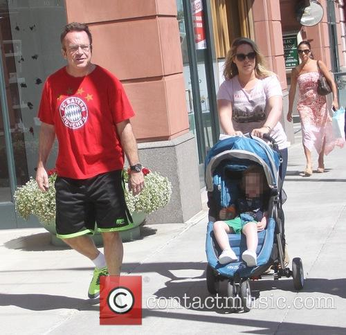 Tom Arnold, Ashley Groussman and Jax Copeland Arnold 10