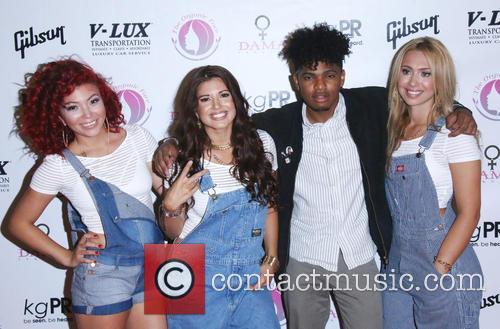 Jazzy Mejia, Natalie Mejia, Tommy Sketchy, Taylor Mejia and The Mejia Sisters 6