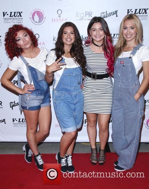 Jazzy Mejia, Natalie Mejia, Laci Kay, Taylor Mejia and The Mejia Sisters 8