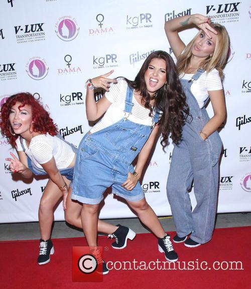 Jazzy Mejia, Natalie Mejia, Taylor Mejia and The Mejia Sisters 9