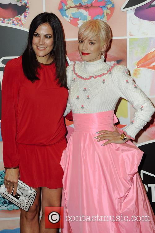 Lily Allen and Bettina Zimmermann 6