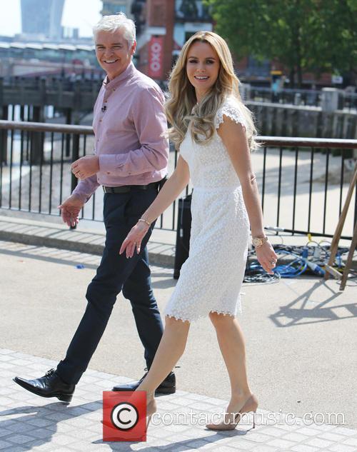 Amanda Holden and Philip Schofield 6