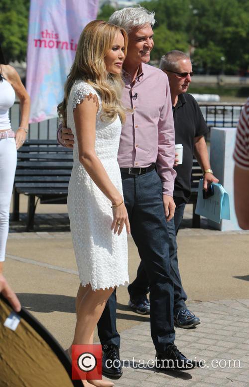 Amanda Holden and Philip Schofield 10