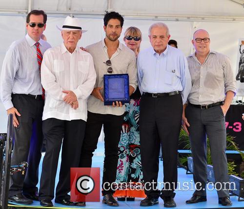 Adam Rodriguez and Mayor Tomas Regalado 8