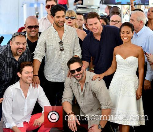 Gabriel Iglesias, Matt Bomer, Adam Rodríguez, Joe Manganiello, Channing Tatum and Jada Pinkett Smith 8