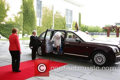 Peter Altmaier, Angela Merkel, Queen Elizabeth Ii and Prince Philip Duke Of Edinburgh 4
