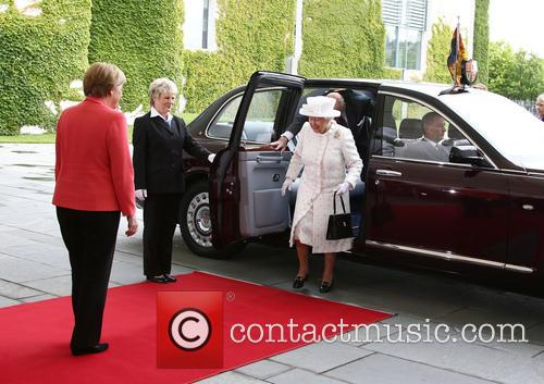 Peter Altmaier, Angela Merkel, Queen Elizabeth Ii and Prince Philip Duke Of Edinburgh 1