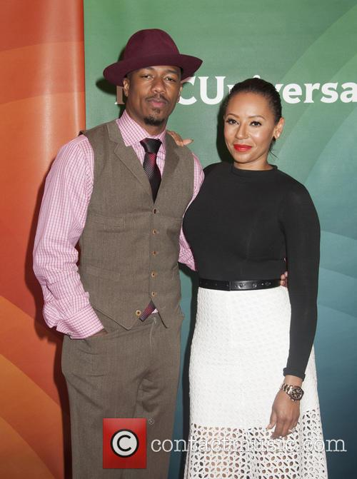 Nick Cannon and Melanie Brown 2