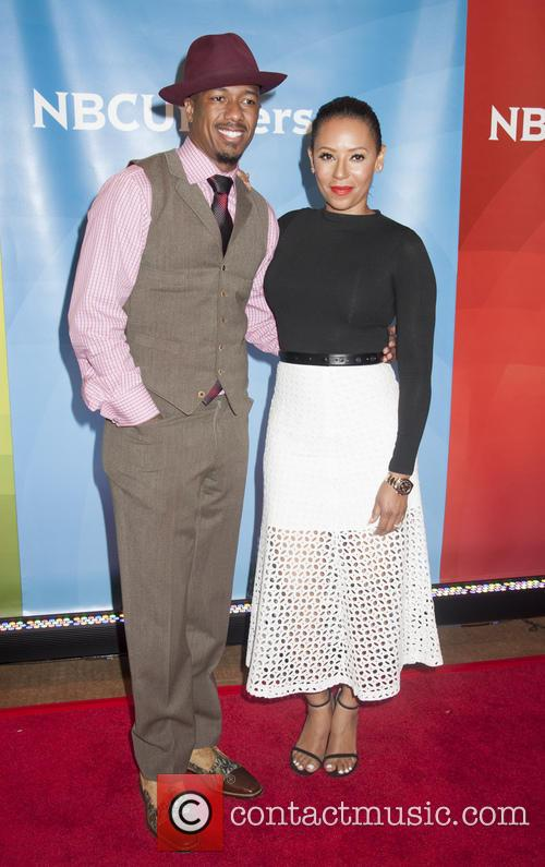 Nick Cannon and Melanie Brown 5