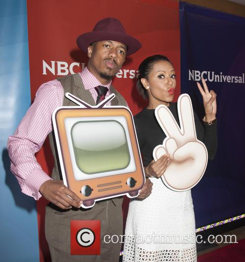 Nick Cannon and Melanie Brown 1