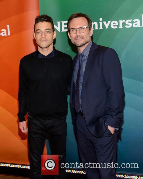 Rami Malek and Christian Slater 2