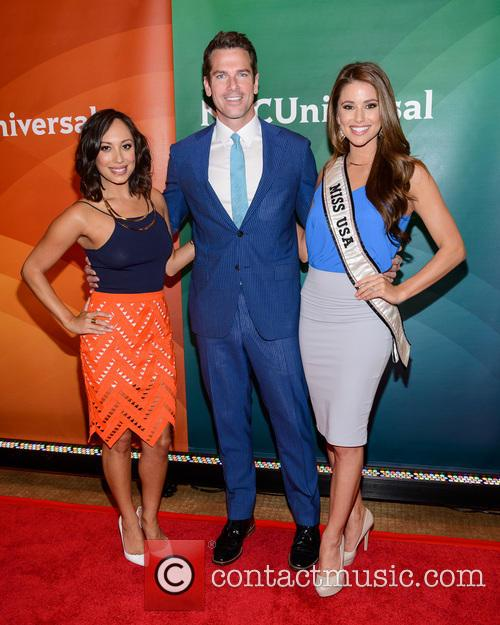 Cheryl Burke, Thomas Roberts and Nia Sanchez
