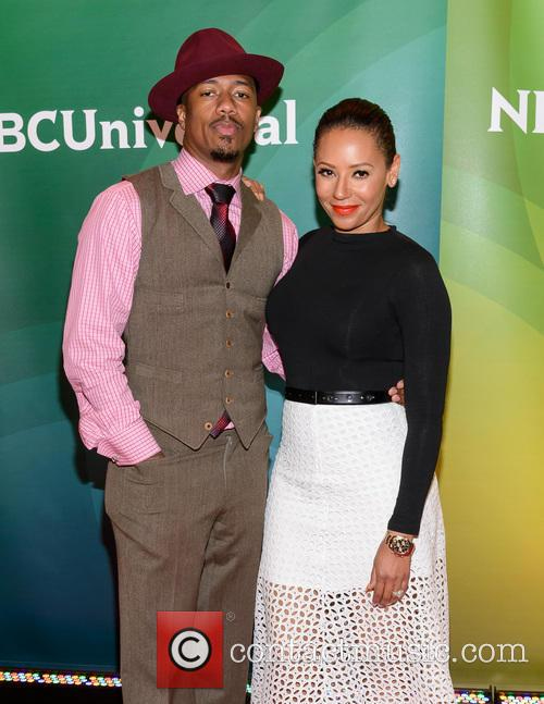 Nick Cannon, Melanie Brown and Mel B 7