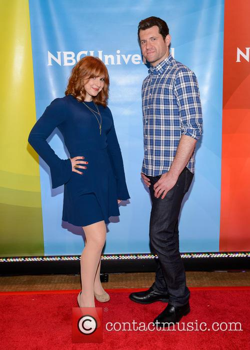 Julie Klausner and Billy Eichner 2