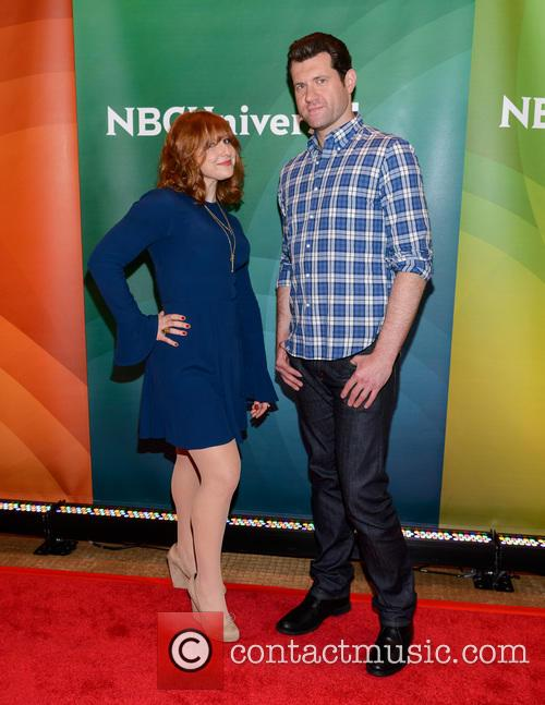 Julie Klausner and Billy Eichner 1